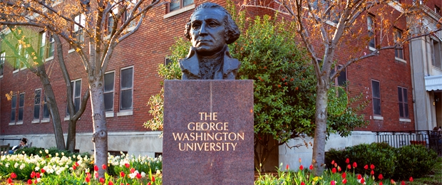 george washington university pa program